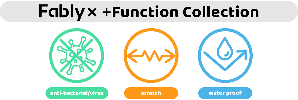 Fably×+Function Collection
